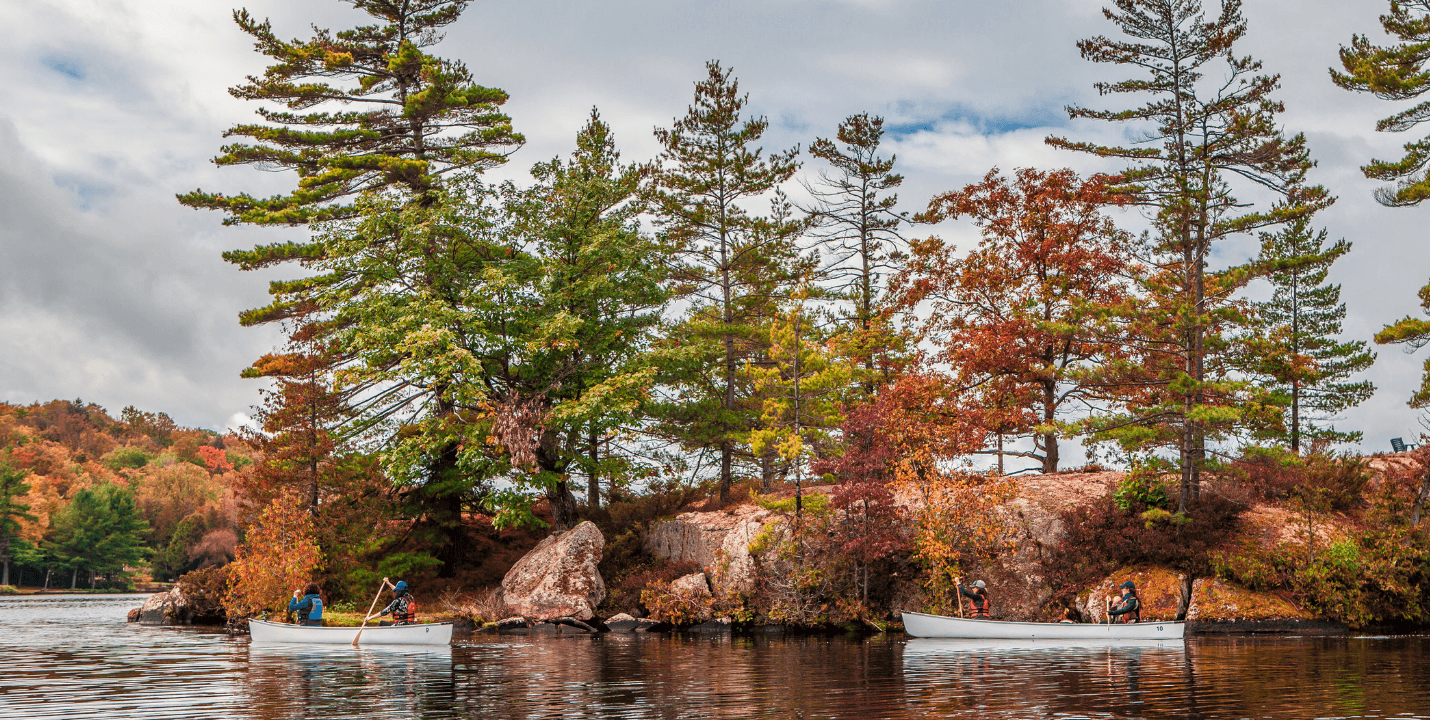 Paddling Lovesick Lake on the Trent-Severn Waterway - Justen Soule
