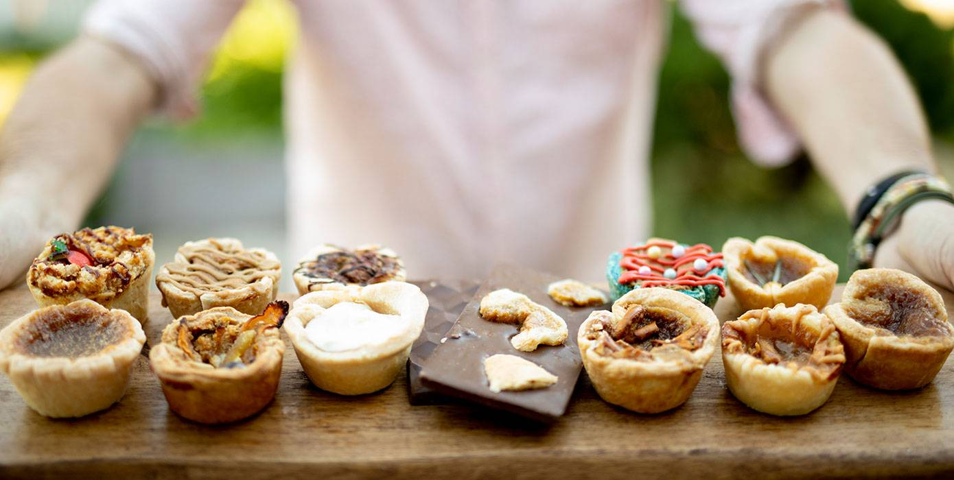 Picture of buttertart varieties