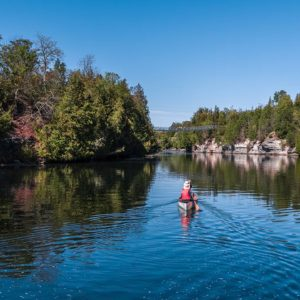 00 RTO8 – Padling Experiences Campbellford Suspension Bridge