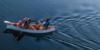 Family canoe trip on Pigeon Lake