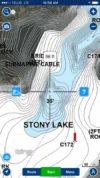 Topographic map of Stony Lake