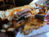 Grilled cheese with a side of poutine at the Cow and Sow in Fenelon Falls