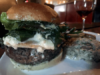 09 A-burger-with-blue-cheese-boudin-sausage-from-Rare-Grill-House-Peterborough