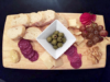 Charcuterie platter from Johnny Vino's in Peterborough