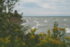 View from the shoreline of Lake Ontario