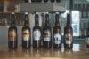 Selection of beers from Presqu'ile Craft Brewery