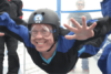Author Marc Smith indoor skydiving