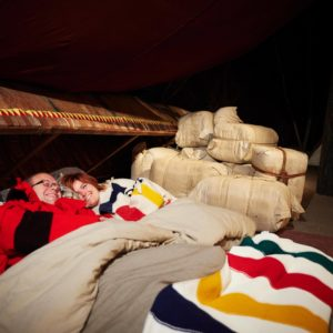 Exclusive winter contest experience - a sleep over at the Canadian Canoe Museum.