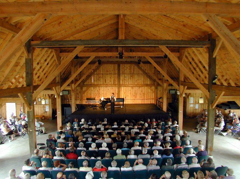 The Westben Barn Interior. Photo courtesy of Westben.