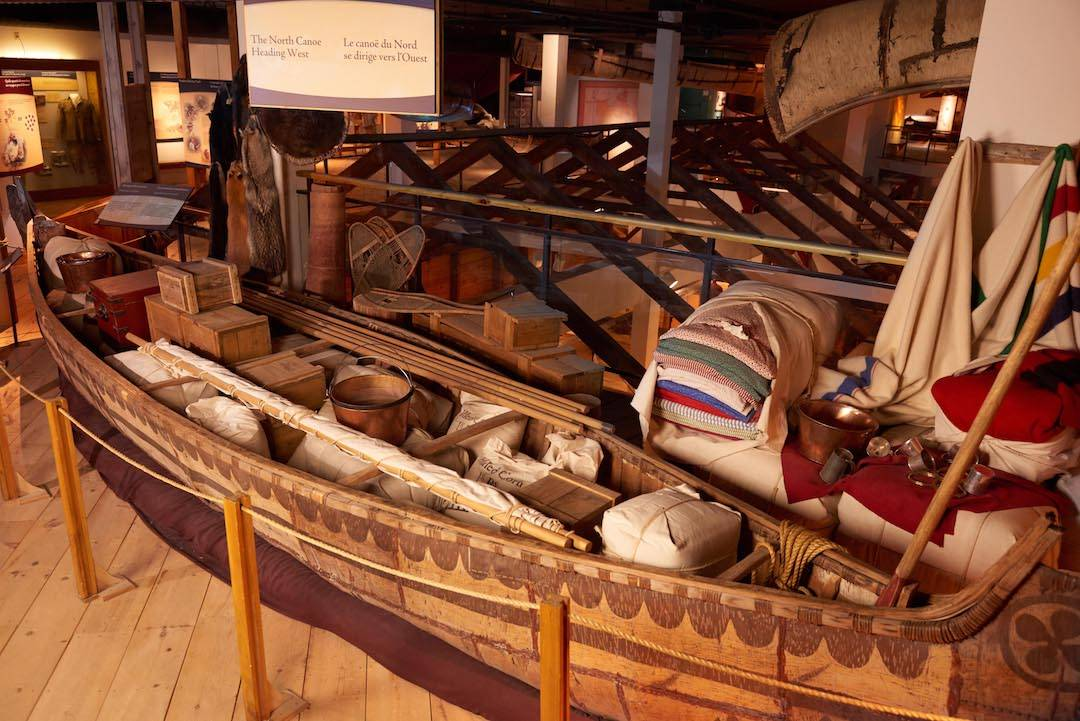 North Canoe at The Canadian Canoe Museum