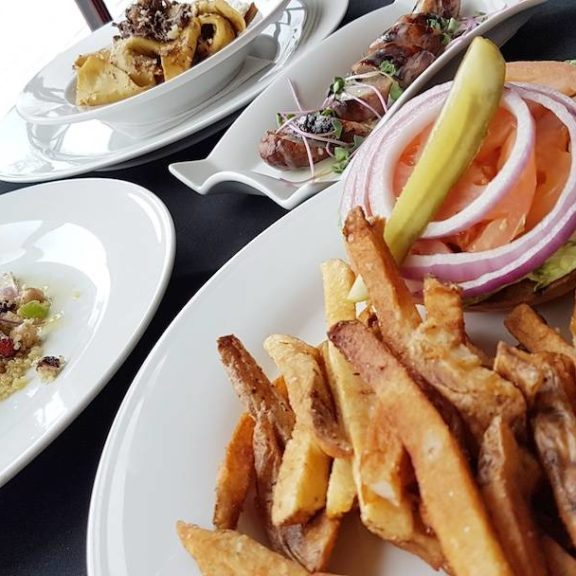 A selection of dishes from The Mill Restaurant and Pub