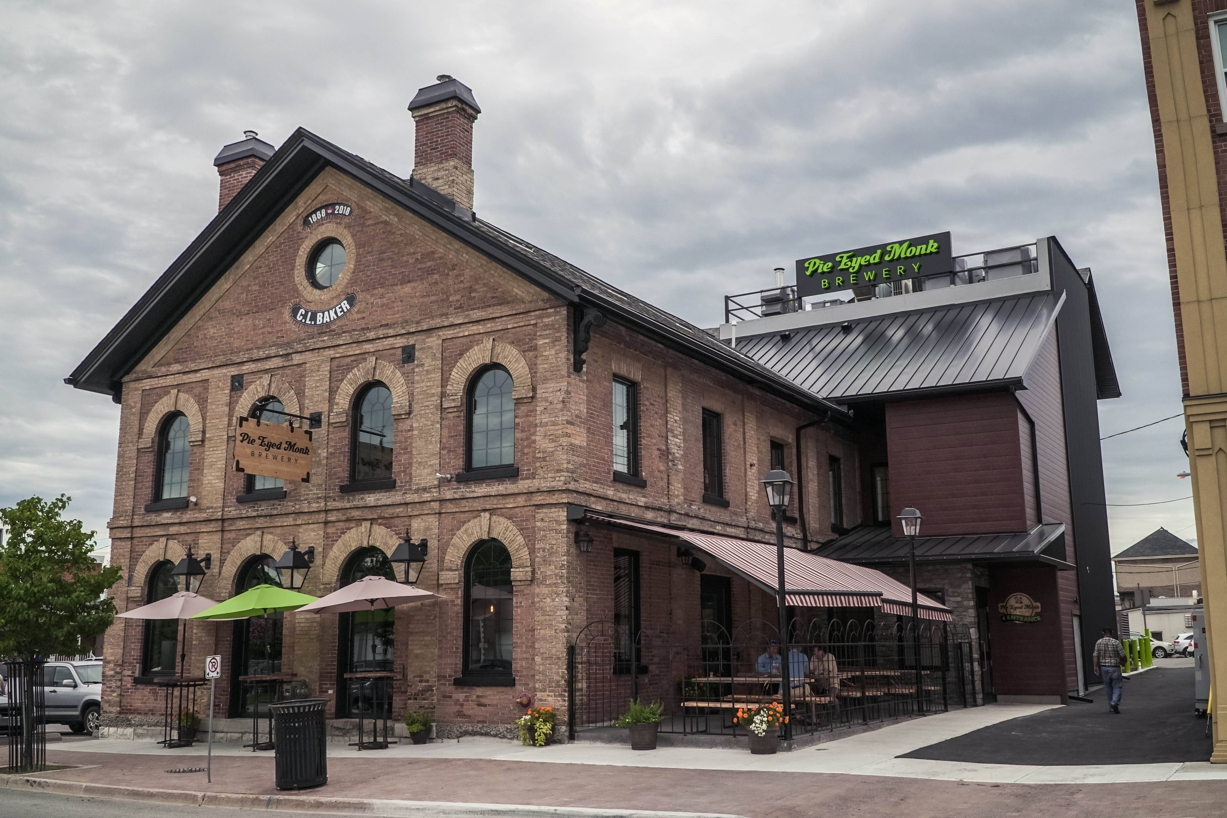 C.L. Baker Historic Building in Lindsay, home to the Pie Eyed Monk Brewery. Photo by Justen Soule