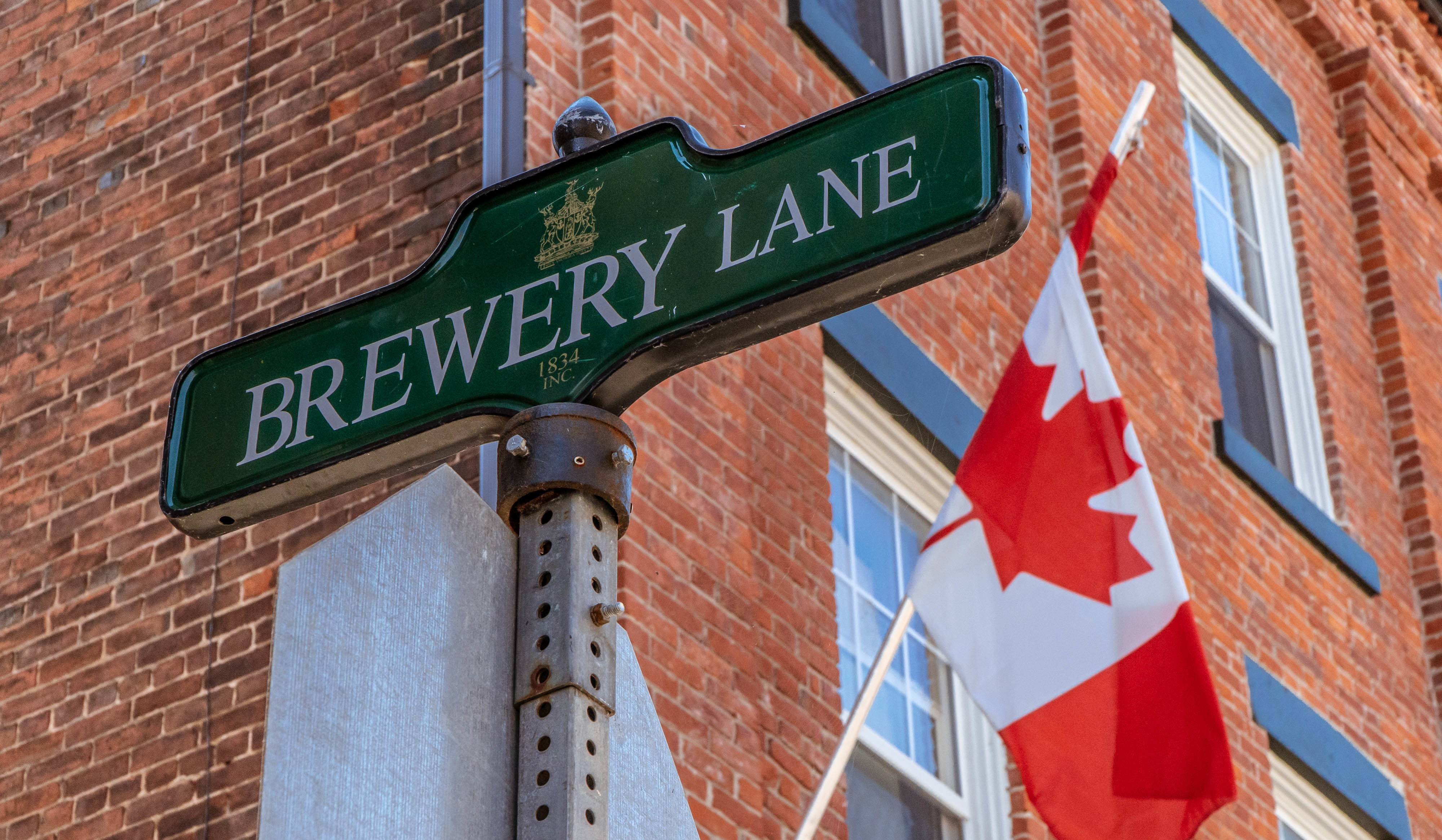 Brewery Lane in Port Hope has a story too tell. Photo by Justen Soule