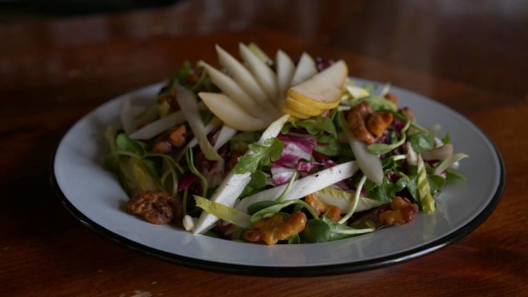 Fresh salad from the Social Bar & Table