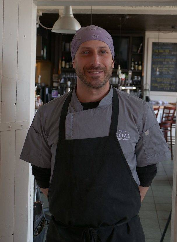 Eric Dreher, head chef at the Social